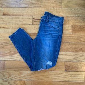 {Gap} Distressed Skinny Jeans